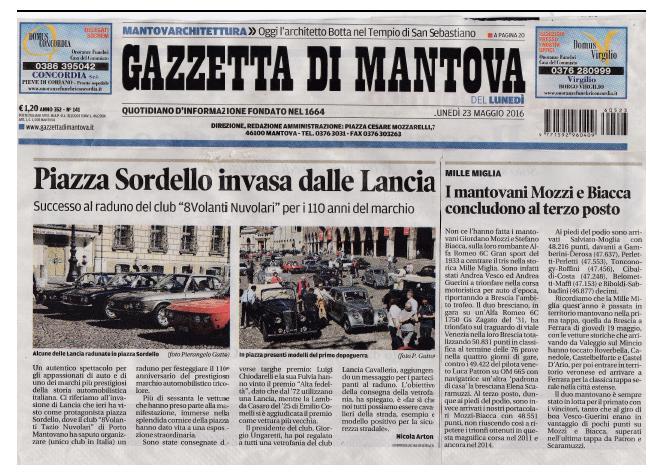 Gazzetta MN 23.05