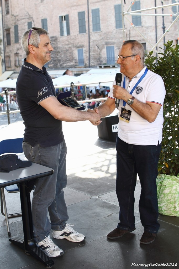 Premiazione Mantova Corse